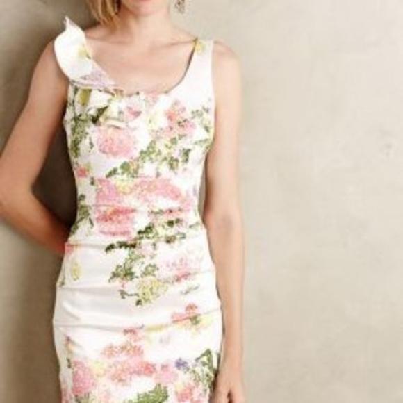 Anthropologie * Maeve Dresses & Skirts - ANTHROPOLOGIE Pointillist Pencil Dress 8P NIP
